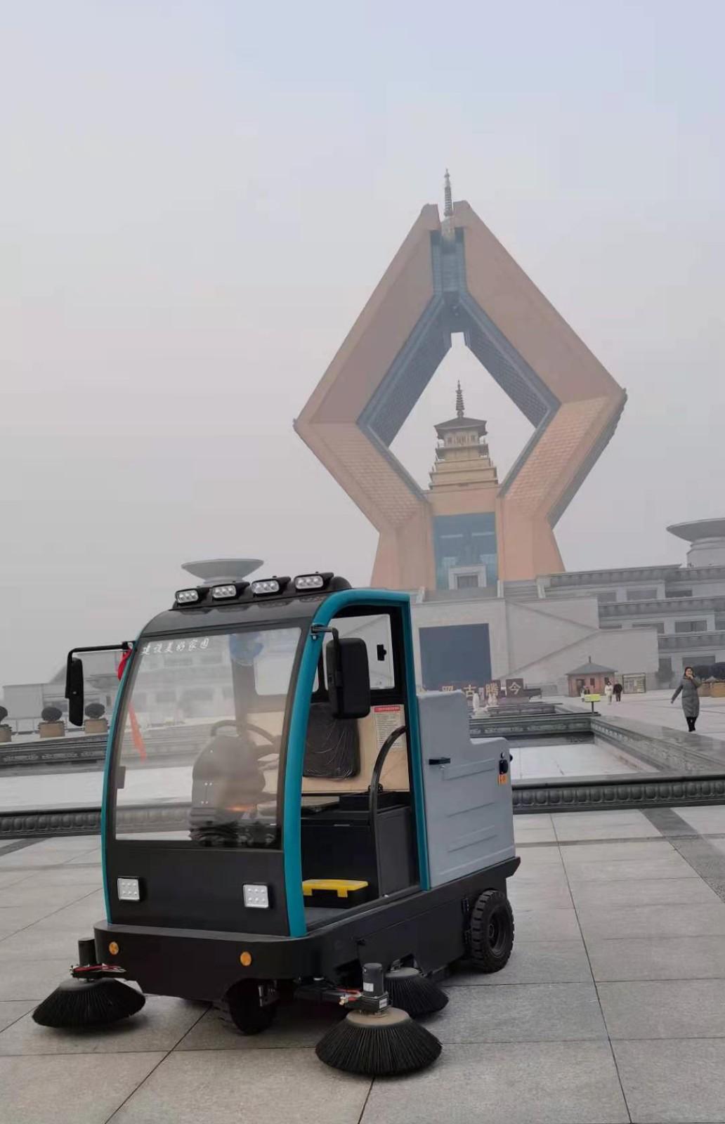 法门寺景区用扫地机