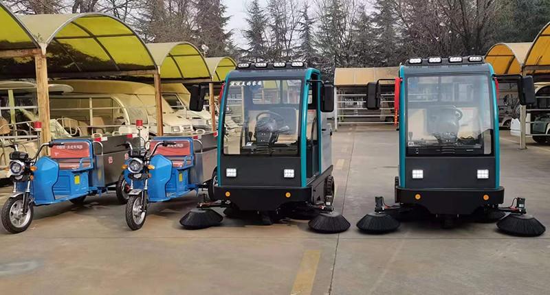 景区用凯德力电动驾驶扫地机