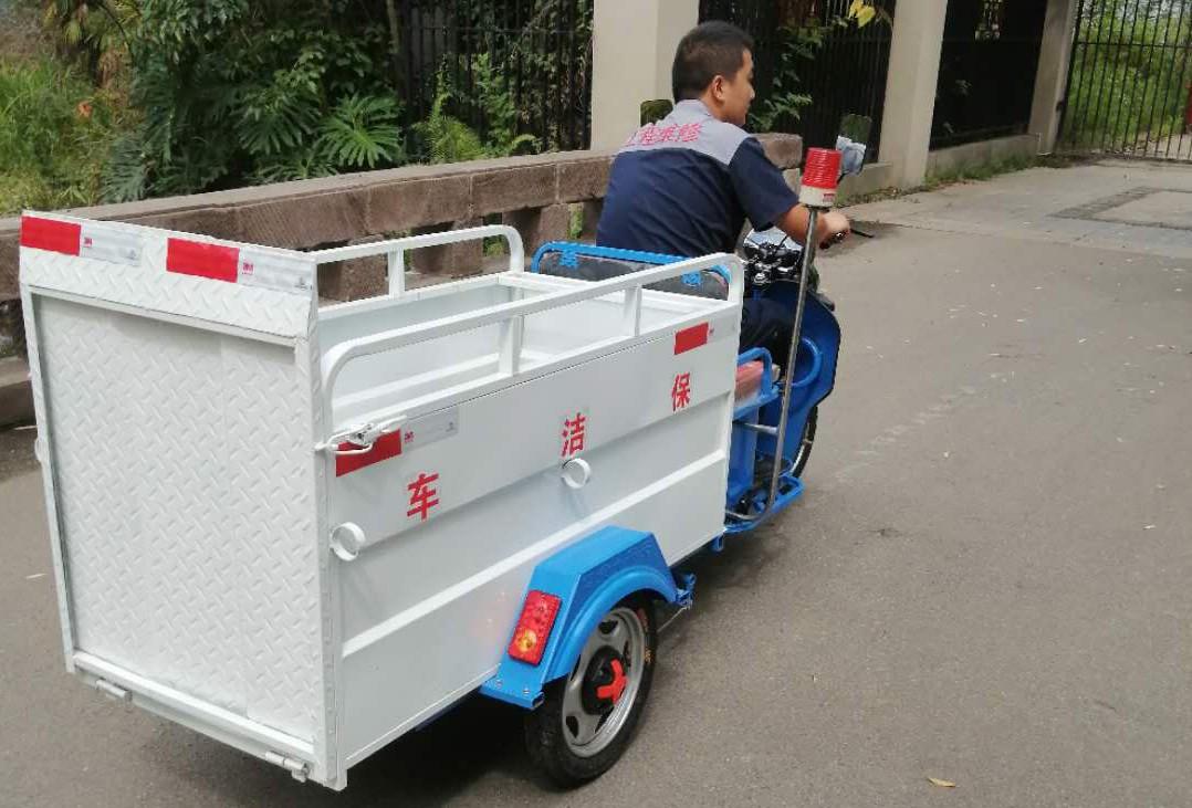 电动保洁车使用前需要检查与注意的地方