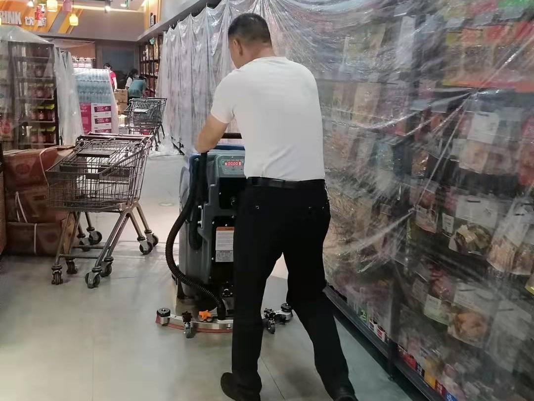 超市商场用全自动洗地机推荐